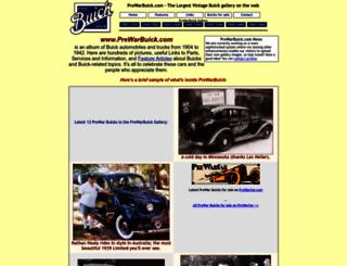 prewarbuick.com screenshot