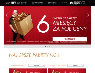 prezenty.ncplus.pl screenshot