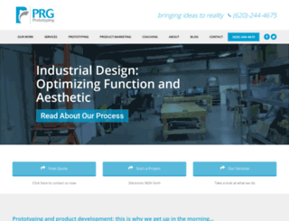 prgprototyping.com screenshot