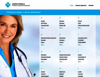 pribalove-letaky.cz screenshot