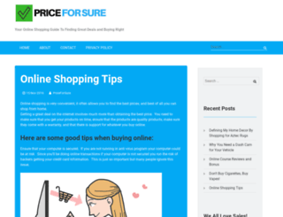 priceforsure.com screenshot