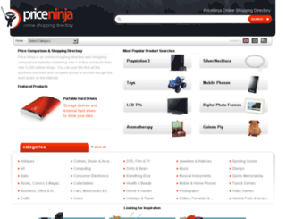 priceninja.com screenshot