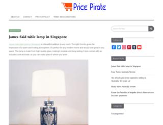 pricepirate.com.au screenshot