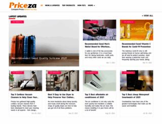 priceza.com.ph screenshot