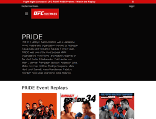 pridefc.com screenshot