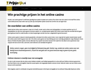 prijsjerijk.nl screenshot