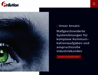 prilution.de screenshot