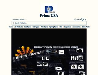 primaairsoft.com screenshot