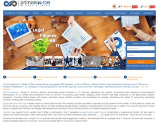 primasource.com screenshot