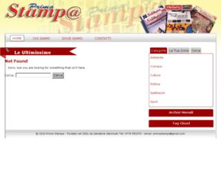 primastampa.com screenshot