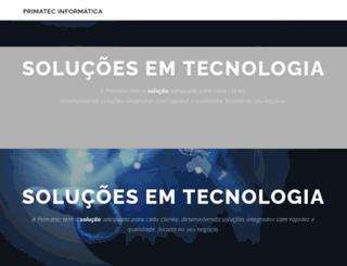 primatec.com.br screenshot