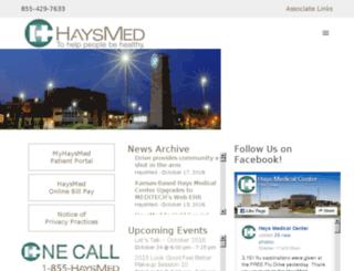 prime.haysmed.com screenshot