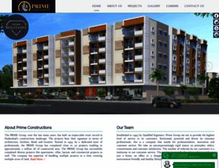 primeconstructions.com screenshot