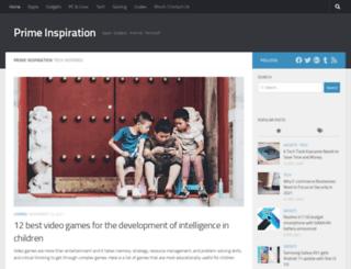 primeinspiration.com screenshot