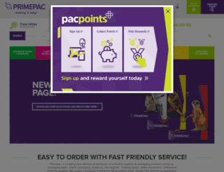 primepac.co.nz screenshot