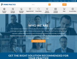 primepractice.com.au screenshot