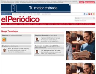 primerafila.elperiodico.com screenshot