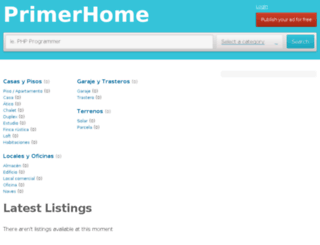 primerhome.com screenshot