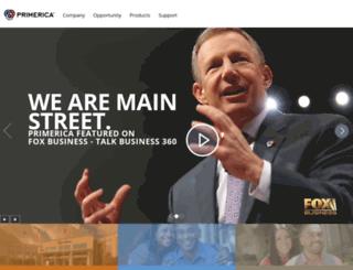 primericabusinessopportunity.com screenshot