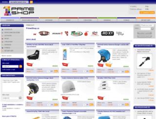 primeshop.cz screenshot