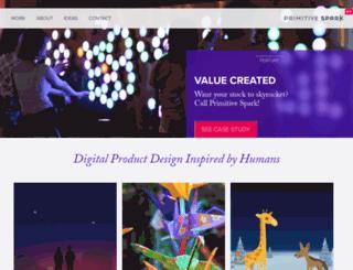 primitivespark.com screenshot
