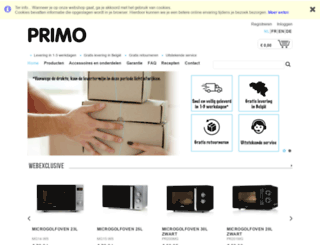 primo-elektro.be screenshot