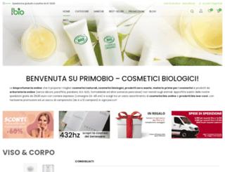 primobio.it screenshot