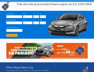 primorossirentacar.com.br screenshot