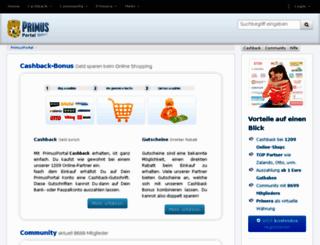 primusstart.de screenshot
