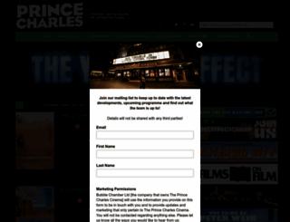 princecharlescinema.com screenshot