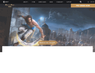 princeofpersiagame.com screenshot