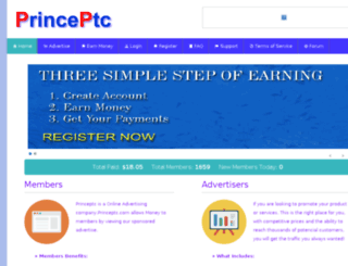 princeptc.com screenshot