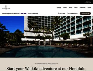 princess-kaiulani.com screenshot