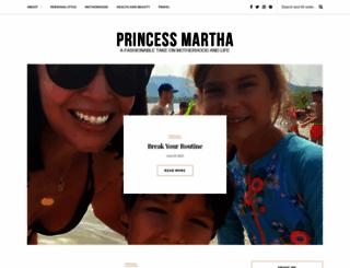 princessmartha.com screenshot