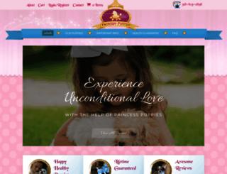 princesspuppies.com screenshot