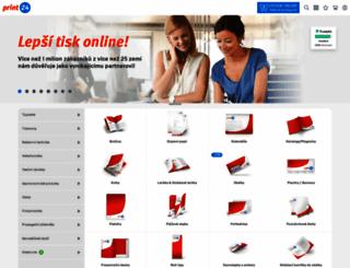 print24.cz screenshot