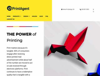 printagent.com screenshot