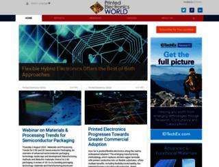 printedelectronicsworld.com screenshot