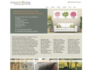 printedoilpainting.com screenshot