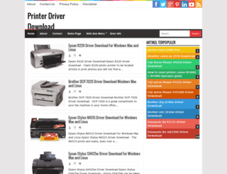 printer-driver-downloads.blogspot.com screenshot