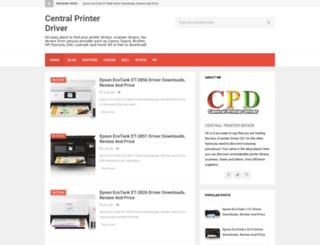 printercentrals.com screenshot