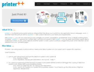 printerplusplus.com screenshot