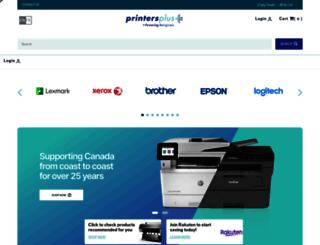 printersplus.net screenshot