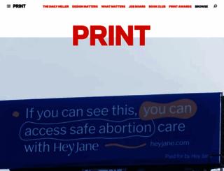 printmag.com screenshot