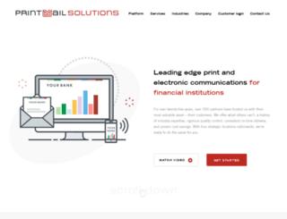 printmailsystems.com screenshot
