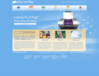 printourflag.com screenshot