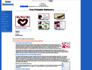 printstationary.net screenshot