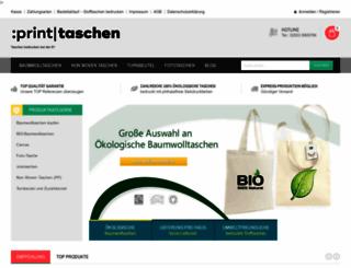 printtaschen24.de screenshot