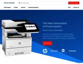 printware.co.uk screenshot