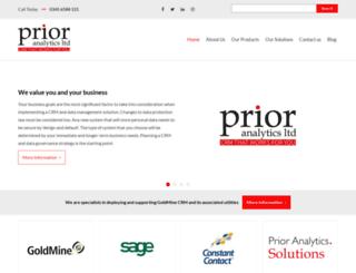 prior-analytics.com screenshot
